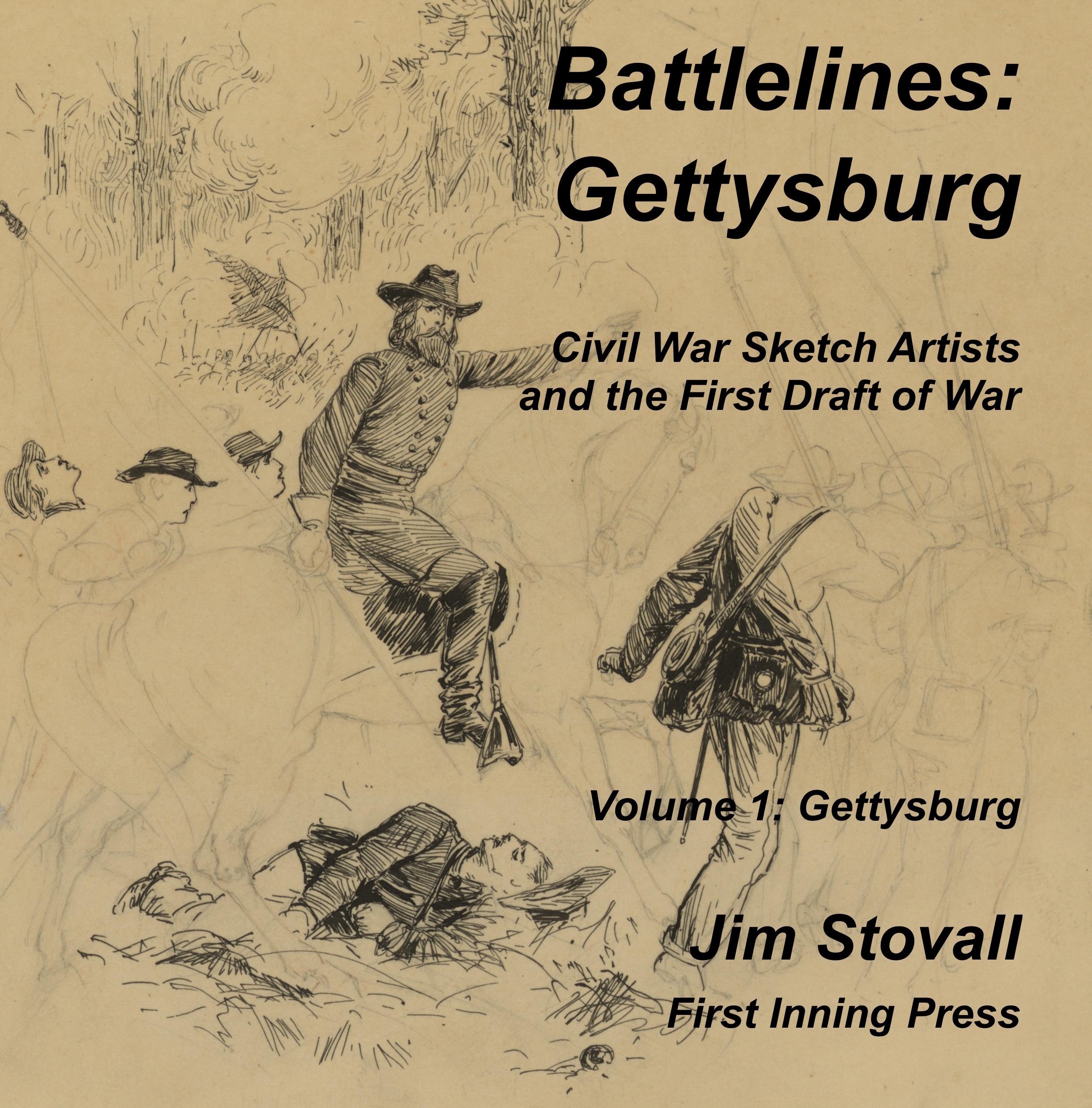 Front cover of Battlelines: Gettysburg