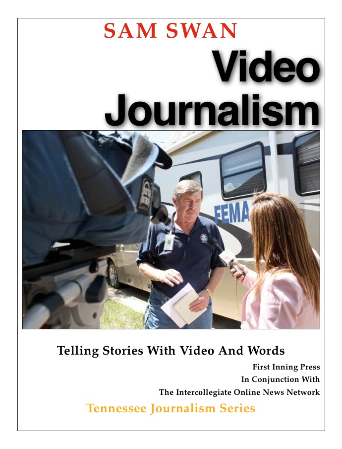 The cover of Video Journalism.