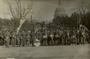 Suffrage Parade--March 3, 1913