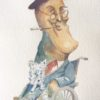 Franklin Roosevelt caricature