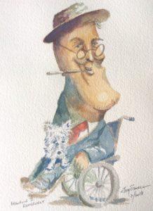 Franklin Roosevelt caricature