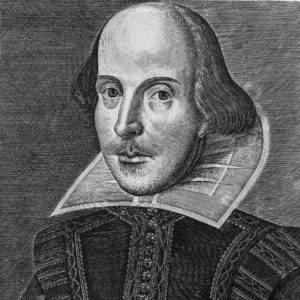 The First Folio engraving