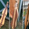 Three dulcimers